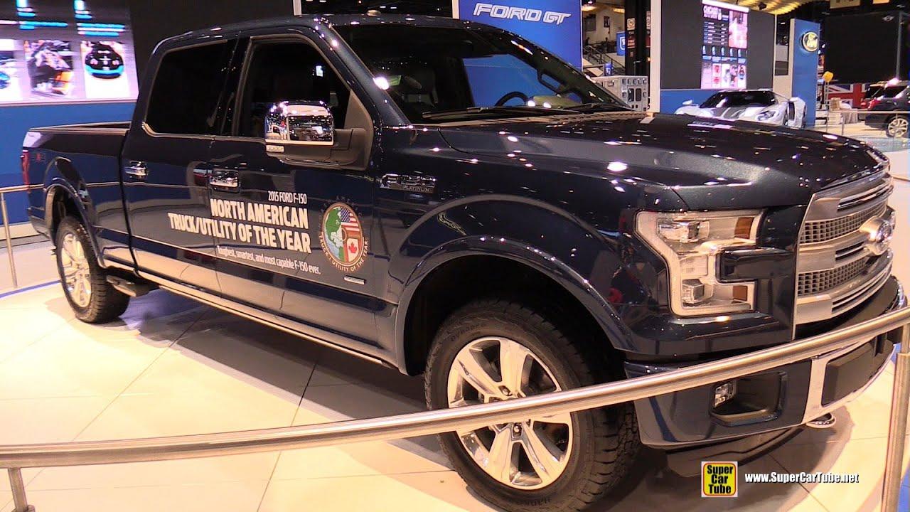 2015 Ford F 150 Platinum   Exterior And Interior Walkaround   2015 Chicago  Auto Show