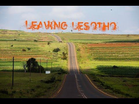 Leaving Lesotho