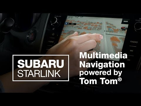 Video: Subaru TomTom Navigation System Updates & Features