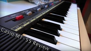 Casio MT-55 Retro Keyboard Review