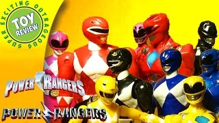 Walmart Power Rangers Red Ranger, Pink Ranger, and more  Then & Now 2-Pack  - Play with Toys