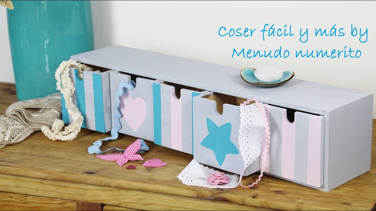 Chalk paint reciclar y decorar una cajonera youtube for Como reciclar ropa interior