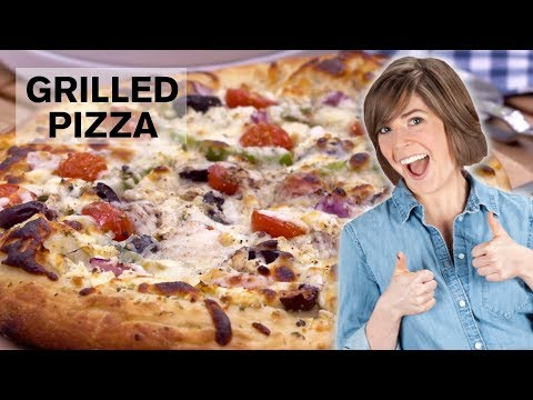 How to Make Grilled Pizza | Dish with Julia | Allrecipes.com