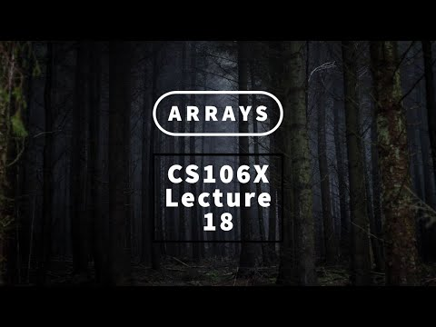 【Lecture 18 - Arrays】CS106X, Programming Abstractions in C++, Au 2017