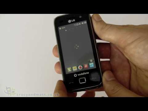 LG GM750 unboxing video