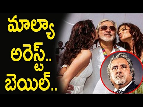 Vijay Mallya arrested in UK by Scotland Yard, gets Bail    Silver Screen