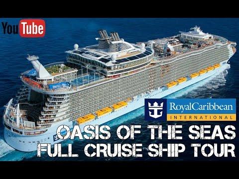 Oasis Of The Seas Ship Tour