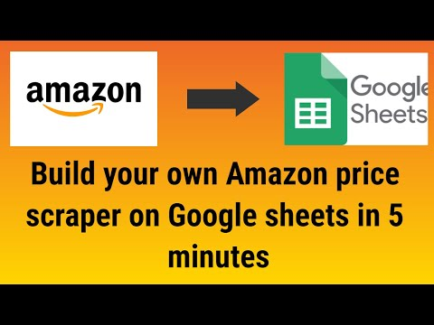 Build Your Own Amazon Price Scraper On Google Sheets