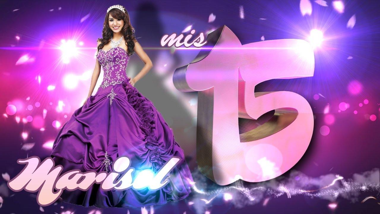 Plantilla intro 15 años Marisol - en sony vegas pro 13