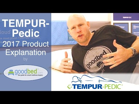 Tempur-Pedic (2017) Product Lines EXPLAINED by GoodBed.com