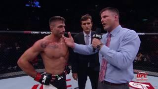 UFC 212: Entrevista no octógono com Luan Chagas