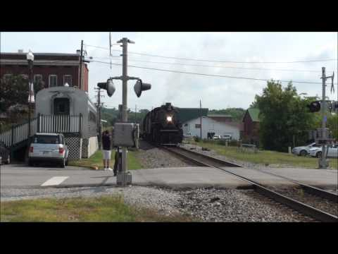 Steam Train Stops In Sweetwater, Tennessee Edited Version