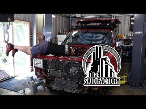 THE SKID FACTORY - Nissan Patrol TD42 Turbo Diesel Swap [EP2]