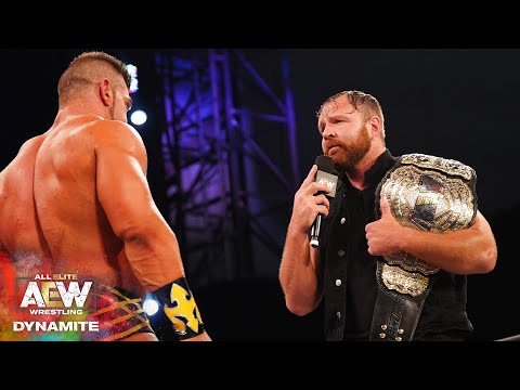 WHAT DID JON MOXLEY THINK OF WHAT TAZ HAD TO SAY? | AEW DYNAMITE 6/3/20, JACKSONVILLE, FL