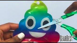 Découper des balles anti-stress Satisfaisant !! 💦 ASMR Gearbest