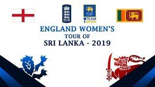 Joint Media Briefing of Sri Lanka vs England Women's Series 2019