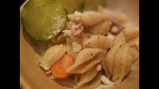 360 Chef: How to make Instant Pot Chicken Pasta with carrots and red wine + Steamed Zucchini Recipe