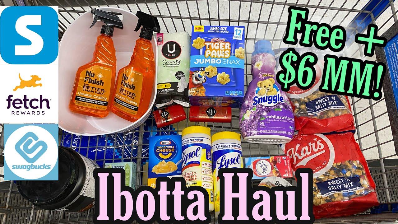 Walmart Ibotta Haul - ALL FREE+ $6 MM! 7/25-31/21