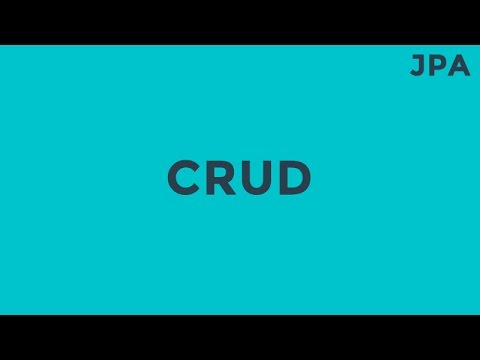 JPA CRUD (Create,Read,Update,Delete)