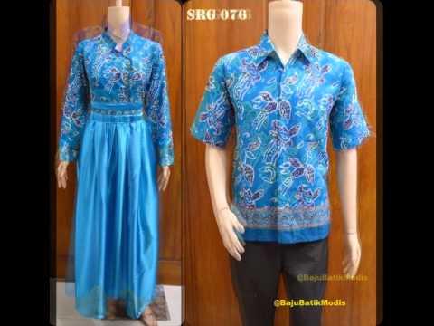 088809926167 Baju Batik Sarimbit Gamis Untuk Pesta Youtube