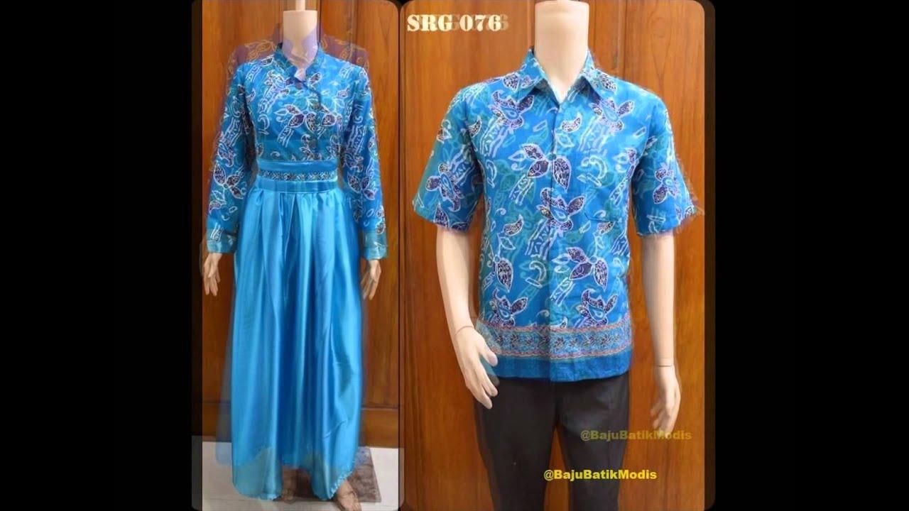 35 Model Baju Gamis Batik 23 Model Busana Muslim