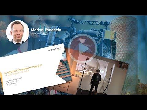14. INFOMOTION BI Innovation Day - Markus Enderlein - Aktuelle Themen und Trends