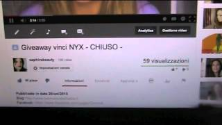 Vincitore giveaway NYX! Thumbnail