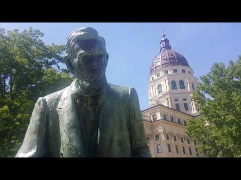 Kansas State Capitol Building - Topeka, Kansas