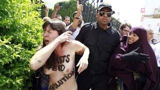Trial begins in Tunisia of 'Femen' activist