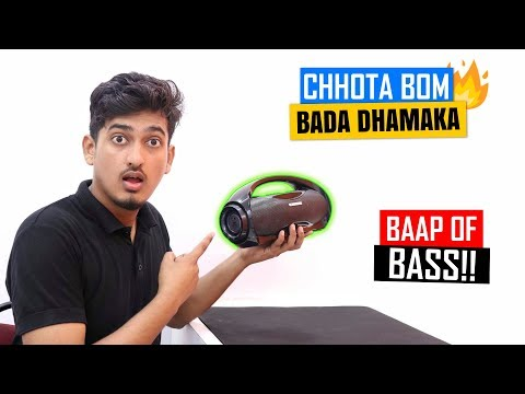 Zebronics AXEL Portable Bluetooth Speaker UNBOXING and REVIEW🔥