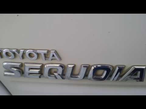 Toyota Sequoia easiest way to open your broken rear door latch!