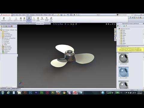 solidworks propeller marine