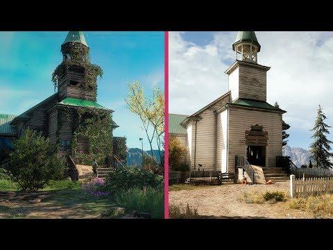 Far Cry New Dawn vs. Far Cry 5 Early Graphics Comparison