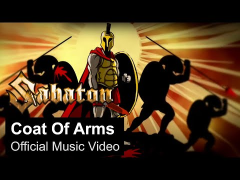 SABATON - Coat of Arms (Official Music...