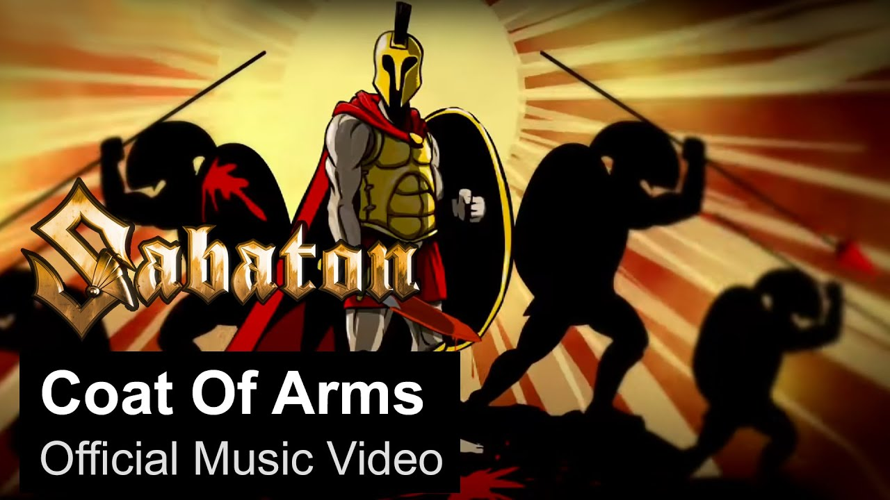 Sabaton Coat Of Arms Official Music Video Youtube