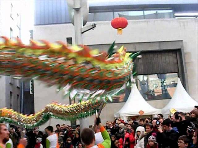 Dragon Dance 2012, Irish Lung Ying Academy Travel Video