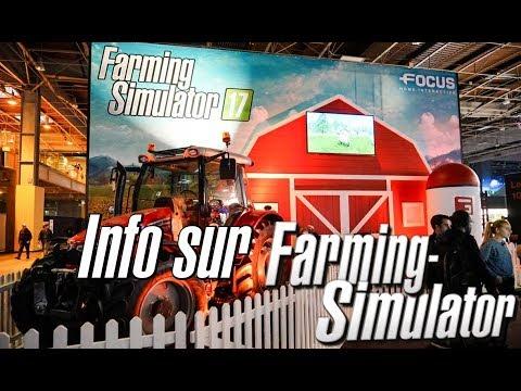 PGW 2017 | GROSSE INFO SUR FARMING SIMULATOR