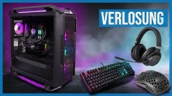 Die Verlosung des 2000€-GAMING-PCs & neues Gaming-Gear-Gewinnspiel powered by Cooler Master