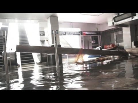 Superstorm, Hurricane Sandy 2012: Inside NYC's Flooded Subways