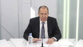 Выступление и ответы С.Лаврова в рамках круглого стола, Москва, 21 апреля 2020 года