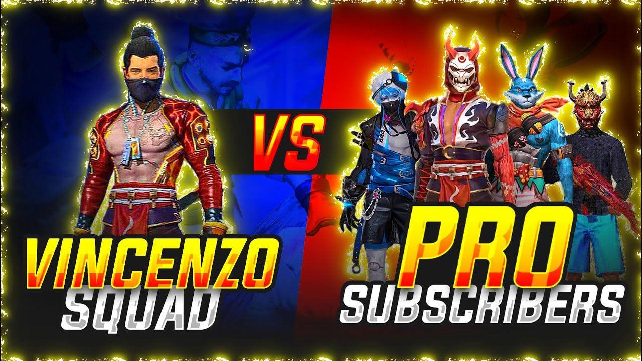 Vincenzo vs Subscribers Challenge Match part-1 Free fire - by Nonstop gaming