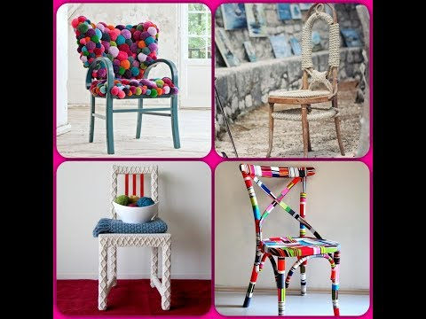 Stool And Chair Makeover. DIY ideas for inspiration! New Decor And Second Life