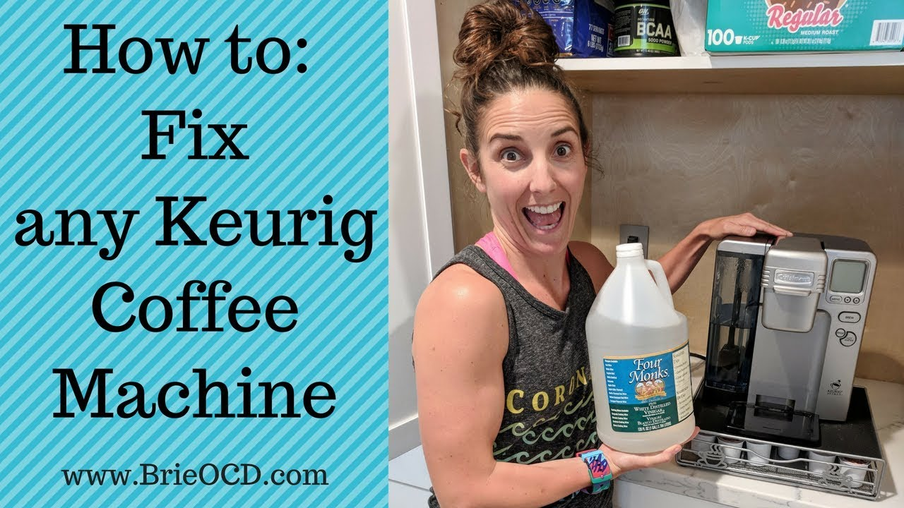 How to Fix your Cuisinart SS-10 Keurig Coffee Machine (or any Keurig ...
