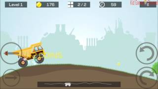 Heavy truck | Drive a big truck  | Vehicle for Kids | Videos for Kids
