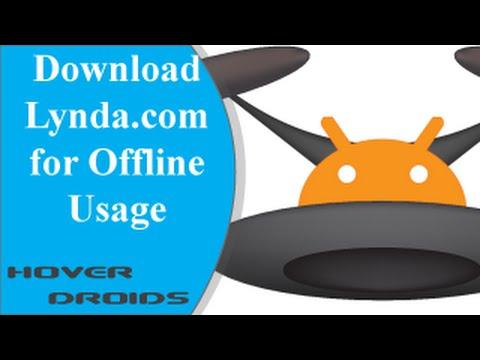 Download Lynda.com for Offline Usage