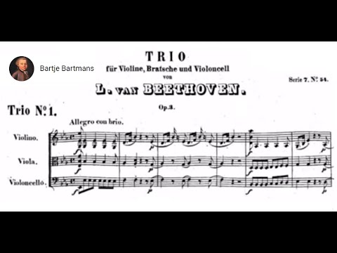 Beethoven - String Trio No. 1 in E-flat major, Op. 3