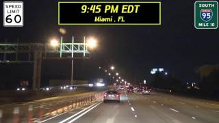 17-FWJ1: Ft. Lauderdale & Miami on a rainy night