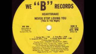 Heartbrake - Never Stop Loving You (This Is The Night) (Dub Mix)