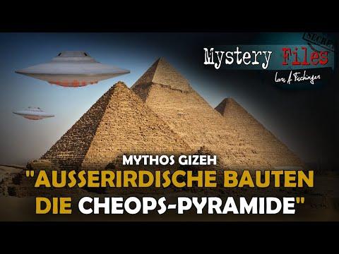 Mythos der Prä-Astronautik: Außerirdische haben die Cheops Pyramide von Gizeh gebaut!