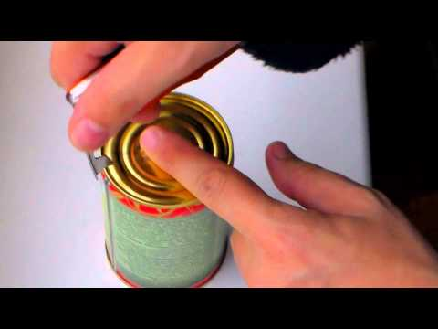 Видео Подарок консервная банка
